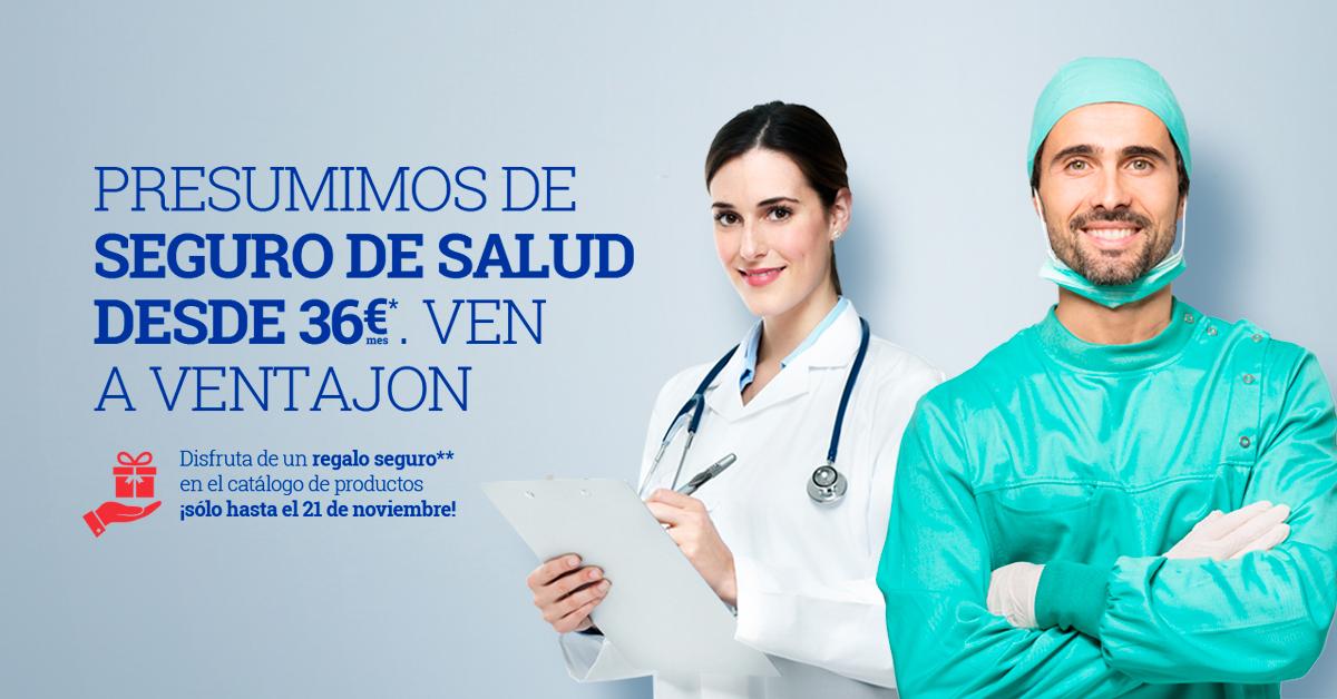 seguro de salud ventajon por 36 euros