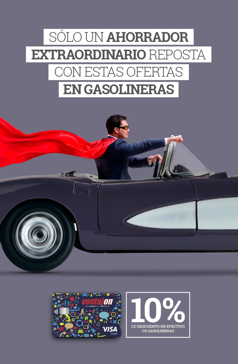 Ahorra gasolina con VENTAJON
