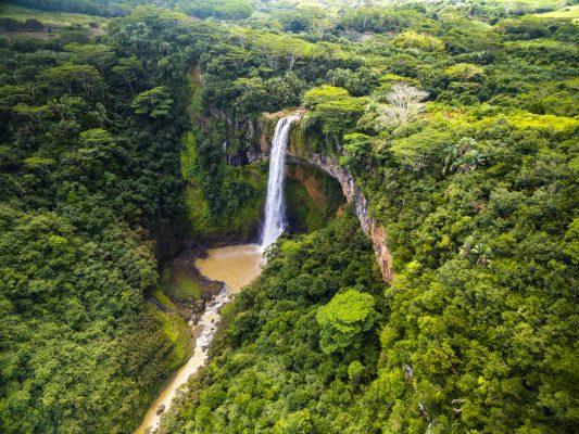 Cascada de Chamari.